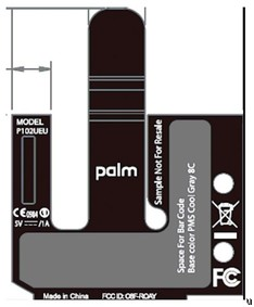Palm P102UEU arrives on FCC, could be European Pre 2