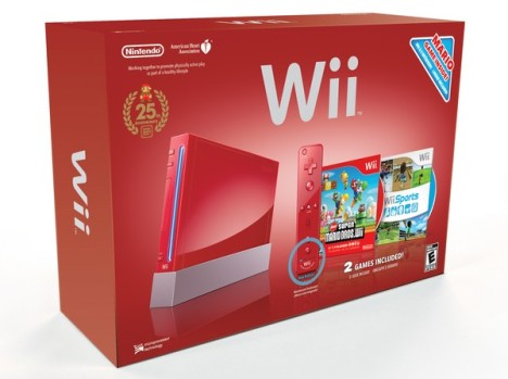 Red Nintendo Wii With Wii Remote Plus To Arrive On Nov 7