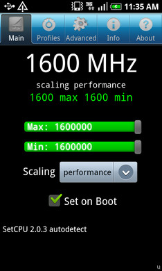 Samsung Galaxy S hits new speed limits at 1.6GHz