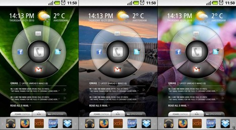 Slick UI offers replacement for Android interface