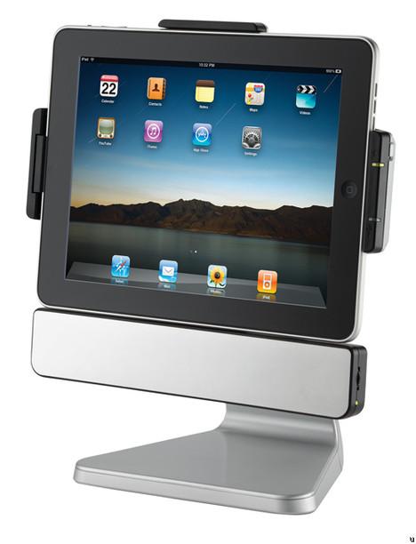 SMK PadDock 10 is an iPad speaker dock