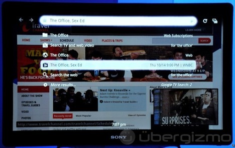 Sony Google TV Announced in NYC