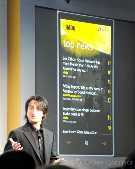 Windows Phone 7 Launch