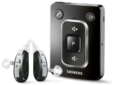 Siemens miniTek Streams Audio To Hearing Aids Via Bluetooth