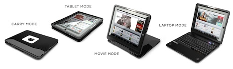 CruxCase for iPad Brings Netbook Form Factor to Apple Tablet