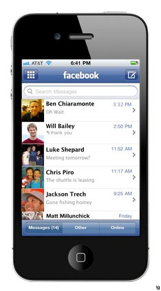 Facebook unveils new messaging service, claims email is 'too formal'