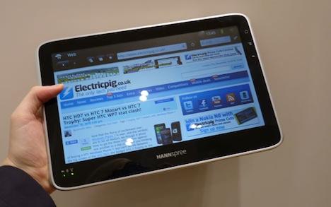 Hannspree's Hannspad Tablet Runs Android 2.2 with Custom UI