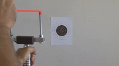 DIY: Laser-sighted Slingshot