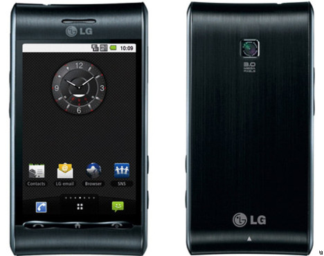 LG GT540 Optimus receives Android 2.1 Eclair update