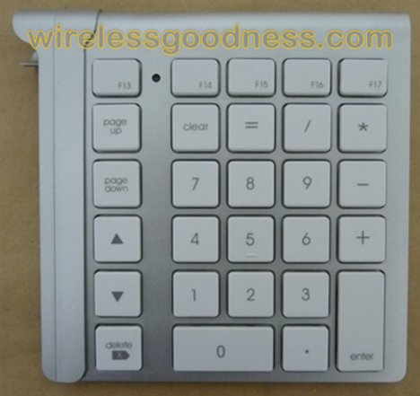 LMP Bluetooth Keypad For Your Apple Keyboard Visits The FCC