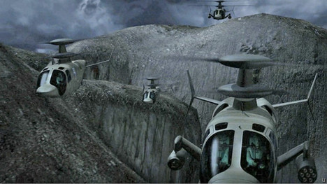 Sikorsky X2 Raider attack helicopter