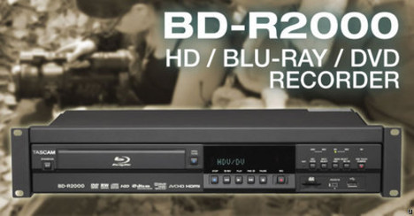 Tascam BD-R2000 could very well be the ultimate video recorder