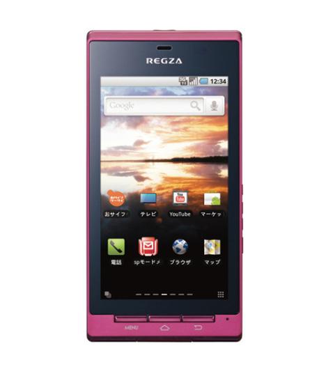 Toshiba Android-powered Regza T-01C Phone