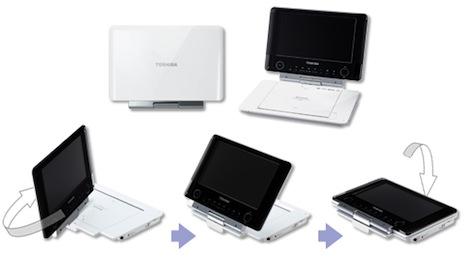 Toshiba Announces REGZA SD-P96DT, SD-P76S Portable DVD Player