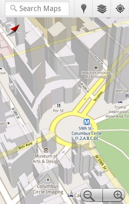 Google Maps 5.0 for Android Now Available for Download from Android Market