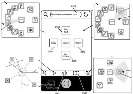 Apple Patent Reveals Radial GUI Pop-Up Menus in iOS