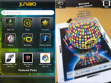 Junaio 2.5: AR Mobile Browser New Version Released