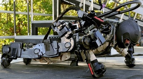 Mind-controlled exoskeleton could be the future