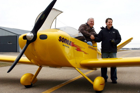 Sonex electric plane completes test flight