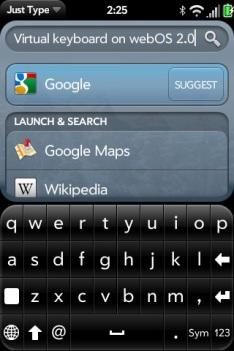 Virtual Keyboard Discovered In webOS 2.0