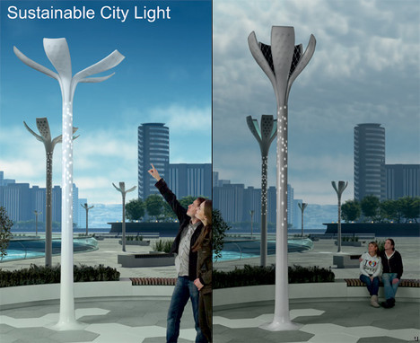 Sustainable City Lights concept