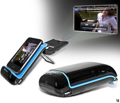 MiLi iPhone Projector