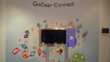 Philips GoGear Connect is Android-powered