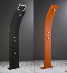 Arkema solar-powered shower