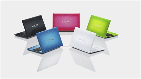 Multicolored Sony Vaio E Series Launched