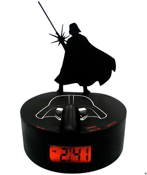 Darth Vader Shadow Alarm Clock