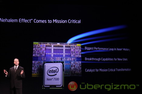 Intel Xeon 7500: 8-cores and 3X faster