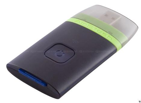 AirStash wireless card reader
