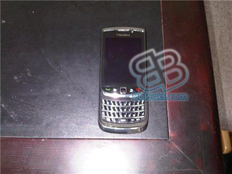 Leaked Picture Of Upcoming BlackBerry Slider Phone?