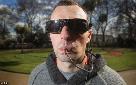 BrainPort Implementation Allows Blinded Soldier To See Via His Tongue