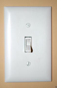 Broadband arrives via light switches
