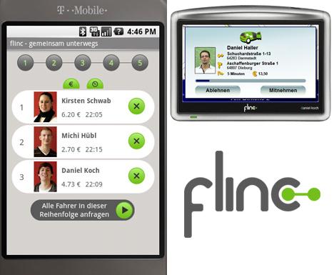 Flinc: Mobile Location-based App for Dynamic RideSharing