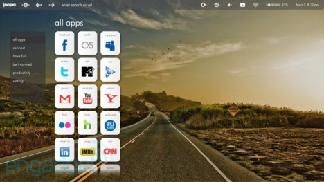 JooJoo Tablet Gets A New User Interface And Color Before Launch