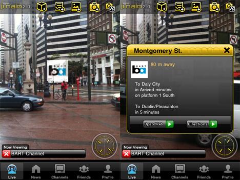 Junaio 2.0: Augmented Reality Browser