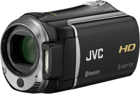 JVC Begins To Ship Its GZ-HM550BUS Bluetooth Enabled Camcorder