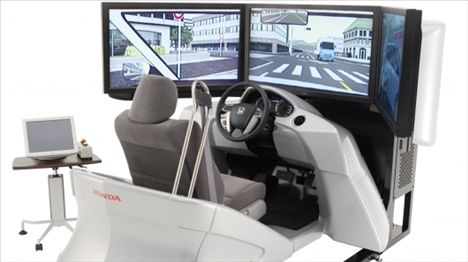 Honda Driving Simulator Gets An Upgrade