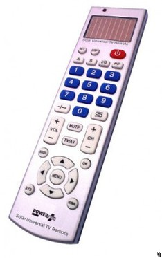 Powerplus Leopard solar-powered universal TV remote control