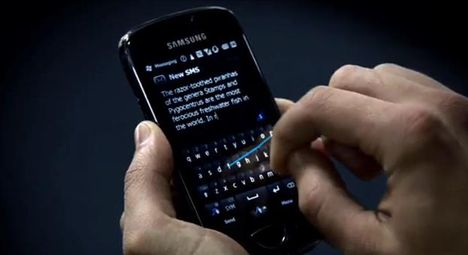 Samsung And Swype Set Record For Fastest Text Message