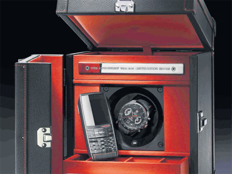 Tag Heuer 150th Aniversary Gift Box Includes A Meridiist Phone