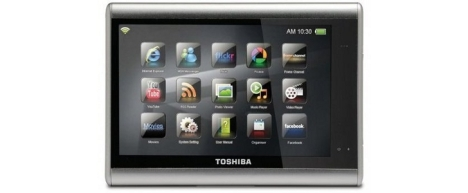 Toshiba has plans for its own tablets