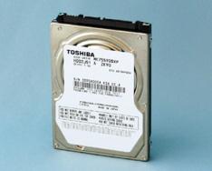 Toshiba Announces 750GB Slim Notebook Hard Drive