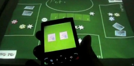 Poker Surface adds new dimension to multi-touch