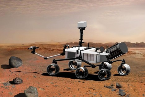 James Cameron working on 3D camera for Mars rover