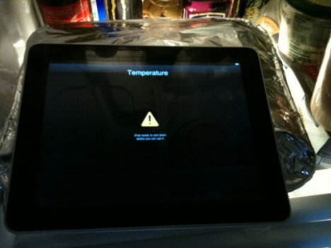 Looks Like The iPad Can Overheat If You're Not Careful