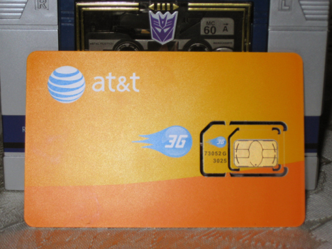 AT&T Readies Its Micro-SIM For The iPad 3G's Launch