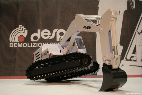 Toy Excavator Works Just Like The Real Deal